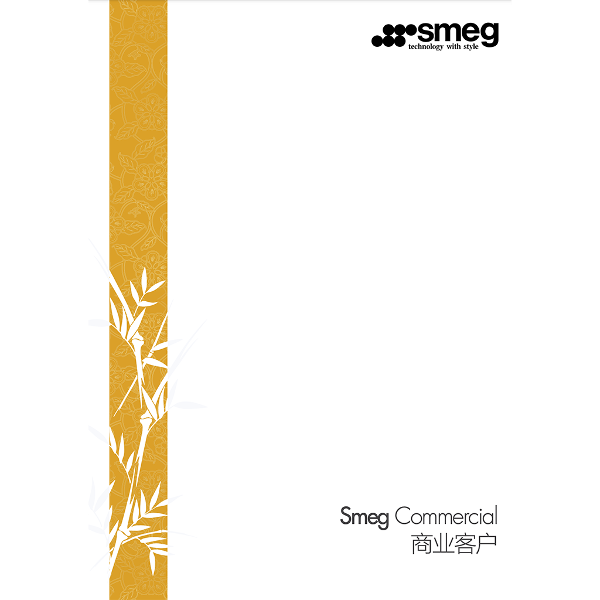 Smeg Chinese commercial catalogue 2017